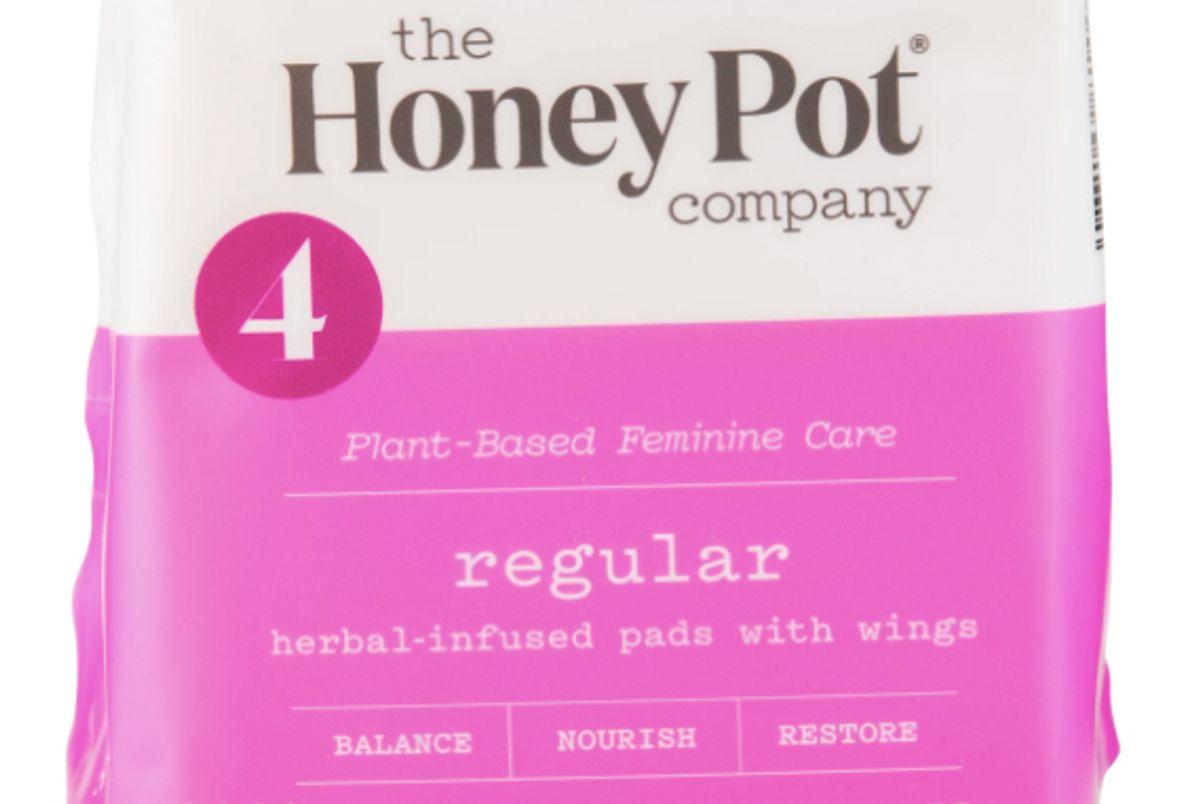the honey pot regular herbal menstrual pads