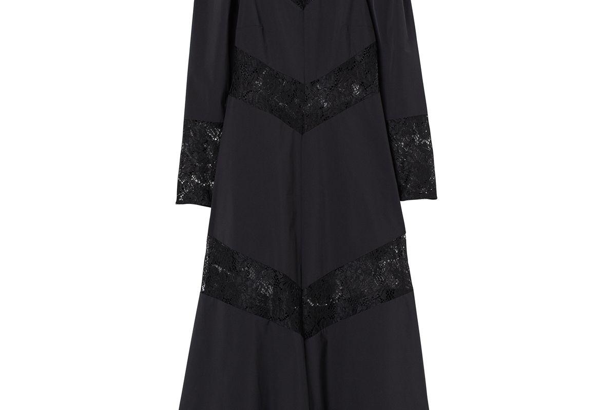 h&m lace trimmed dress