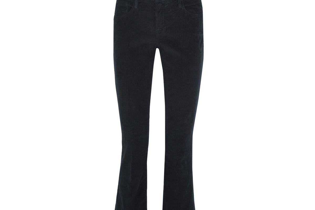 Le Crop corduroy slim-leg pants