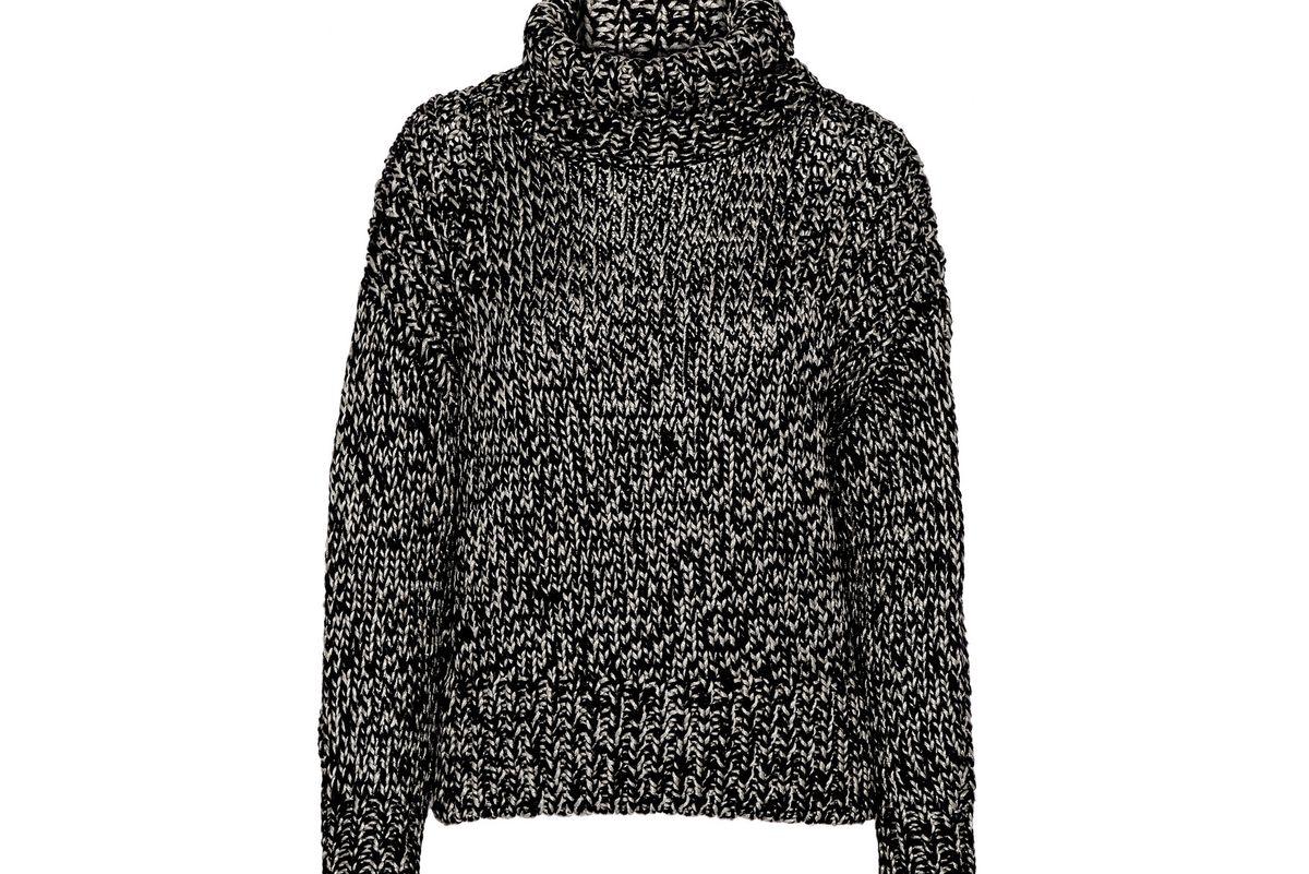 Sandra metallic wool-blend sweater