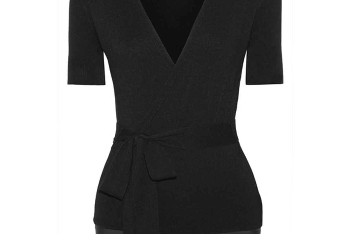 Tuxe Bodywear Solicitor warp-effect stretch-knit bodysuit