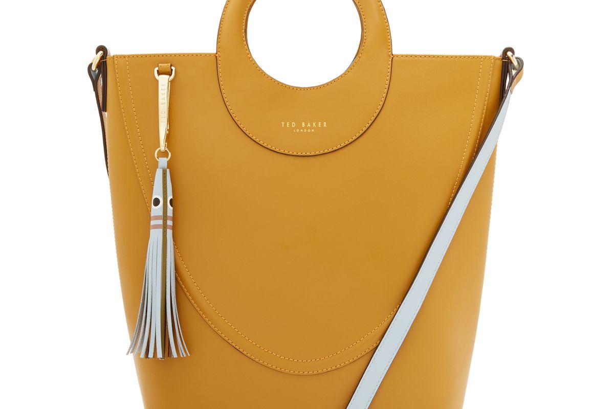 ted baker stinger leather shopper bag