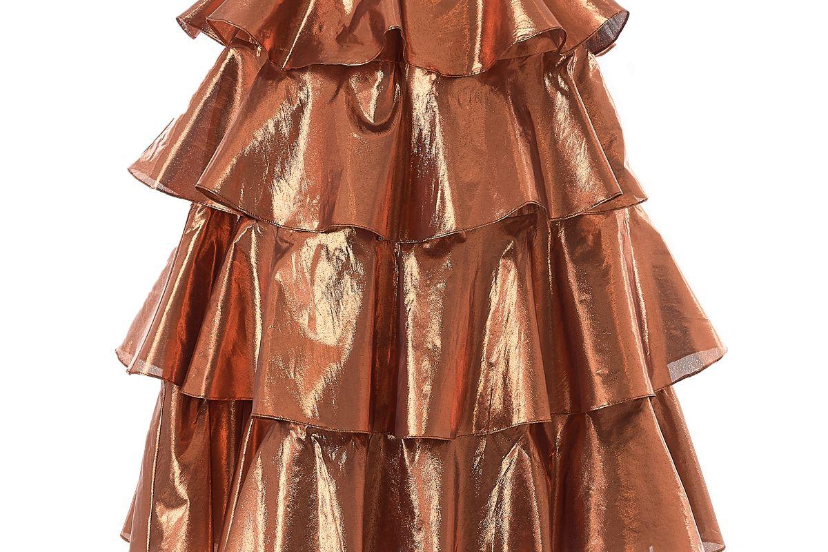 batsheva tiered skirt