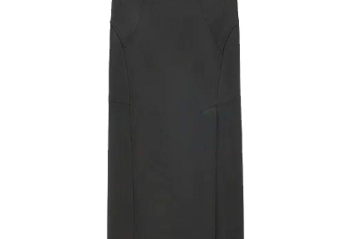 zara seamed pencil skirt