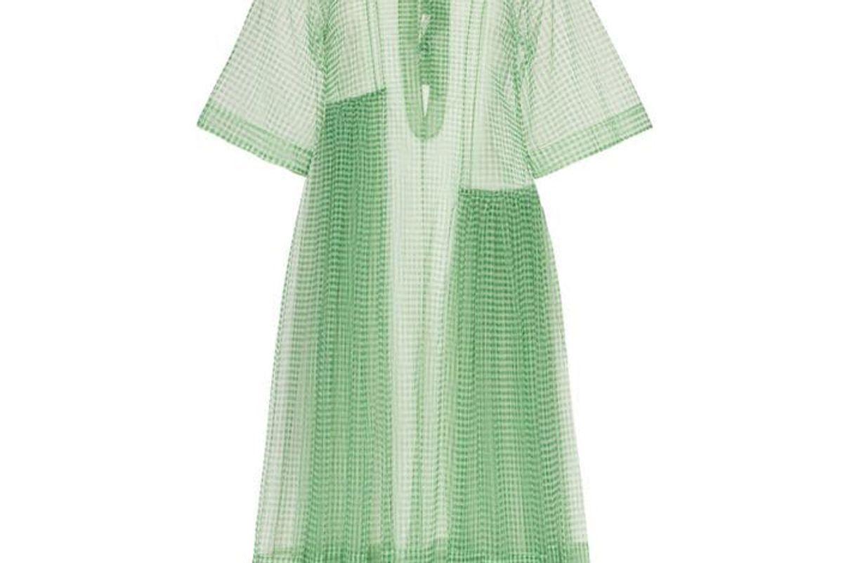 molly goddard blessing print dress