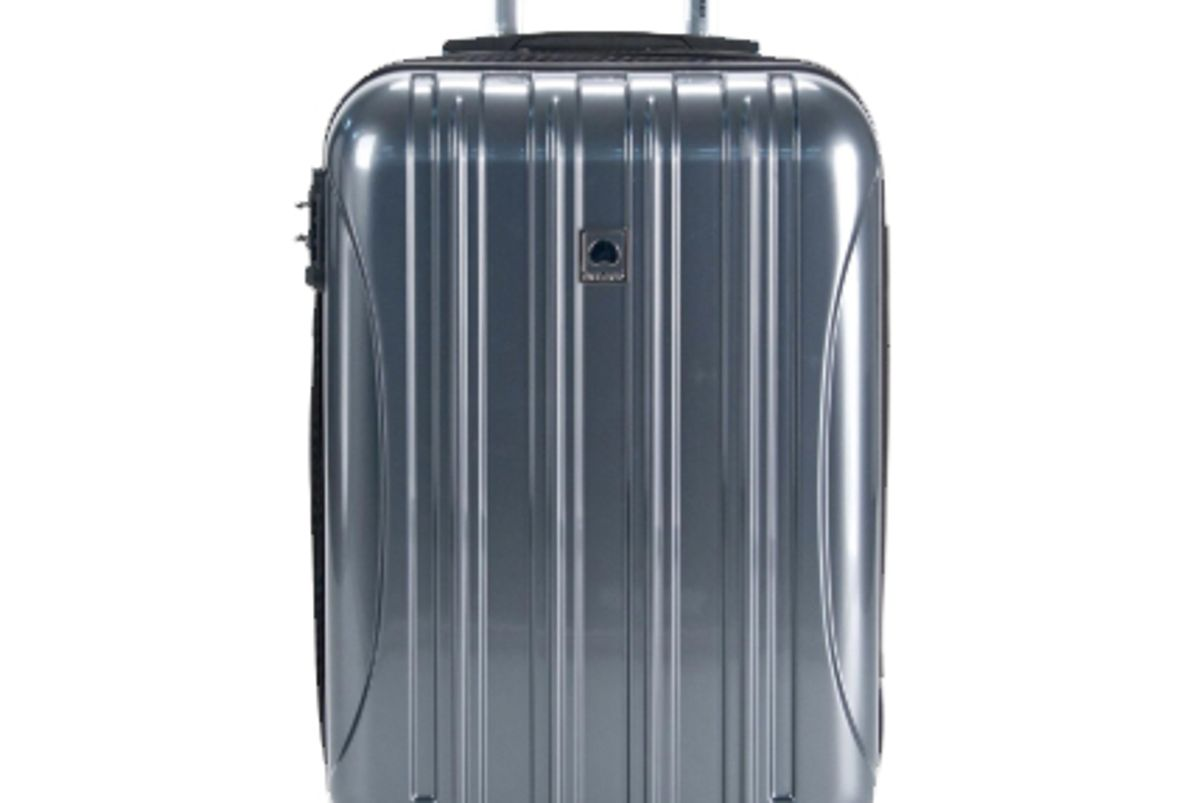 delsey aero carry on expandable rolling luggage