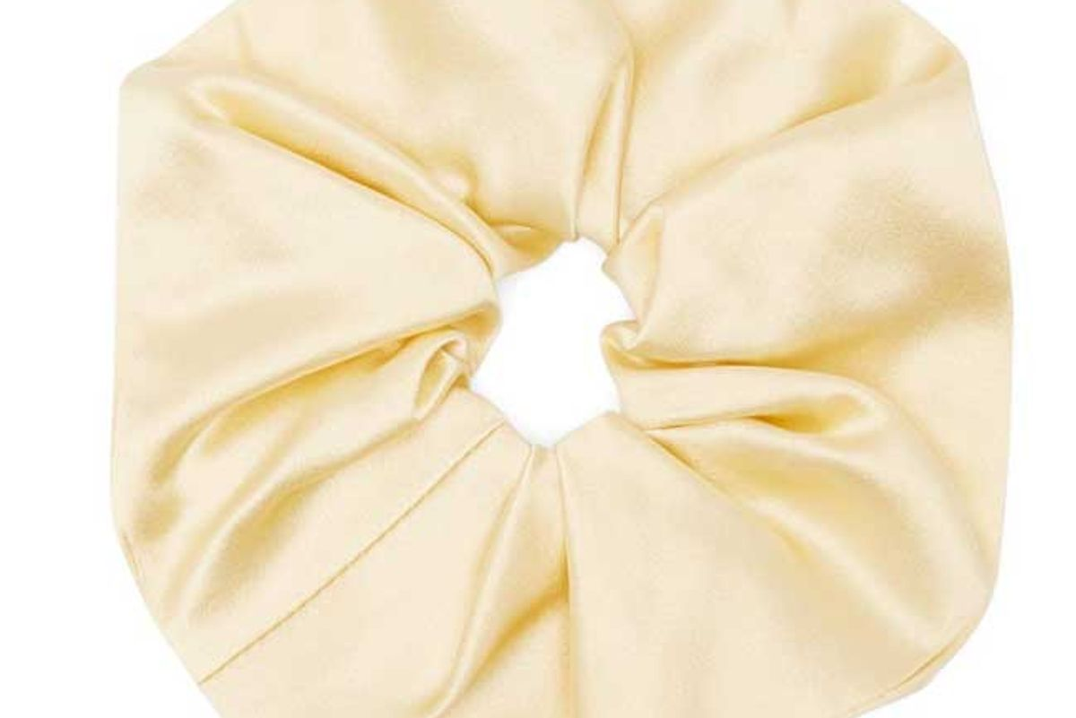sophie buhai elegant silk satin hair scrunchie