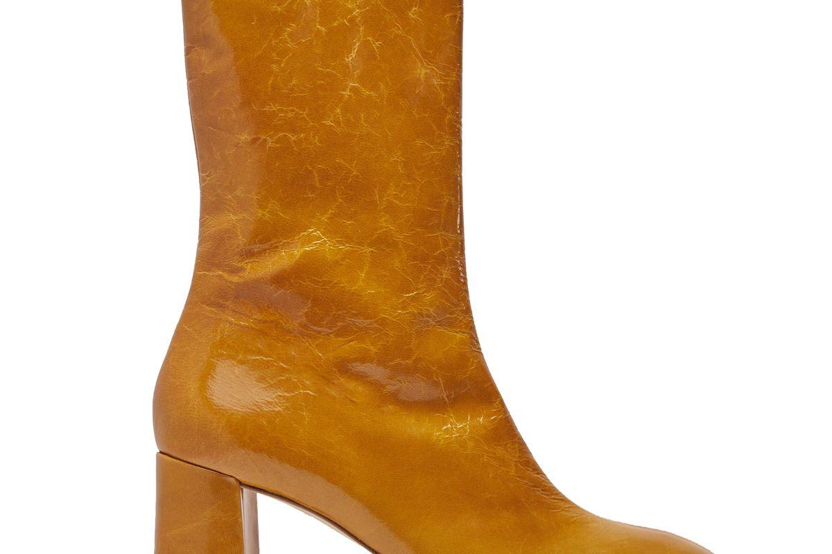 miista carlota indian yellow leather boots