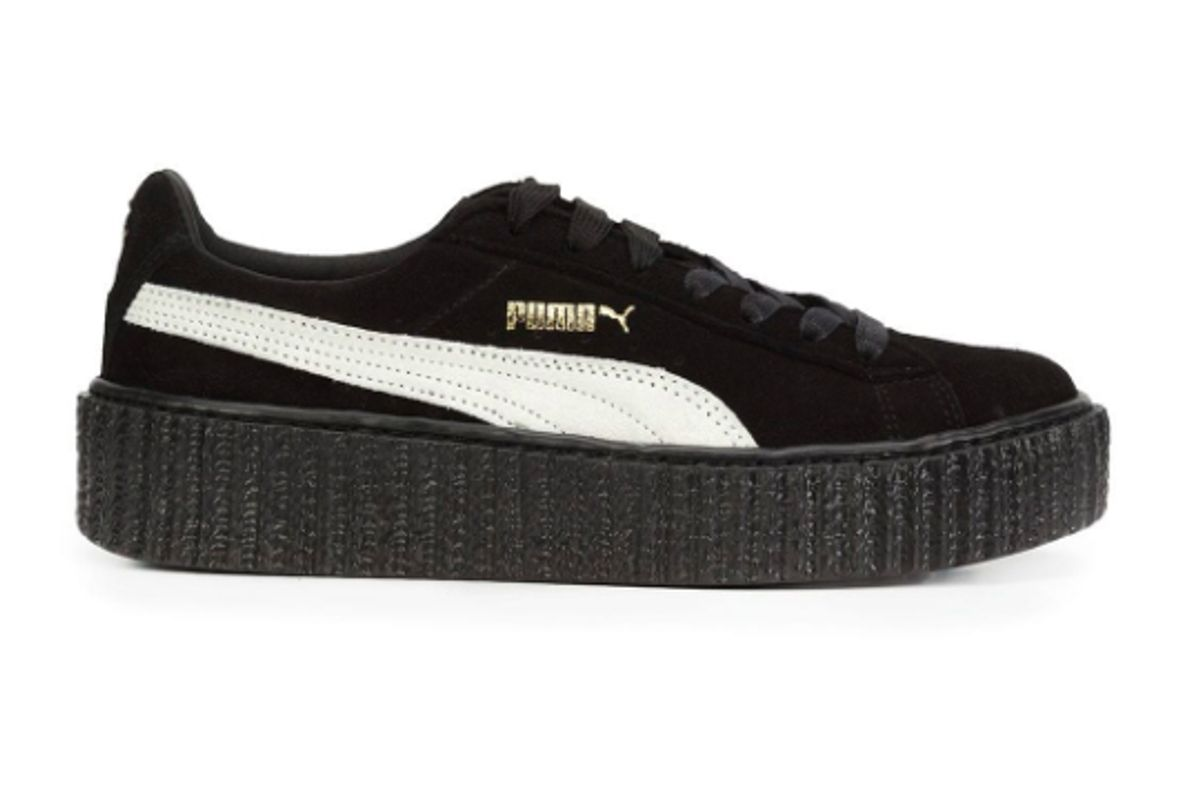 fenty x puma platform lace up sneakers