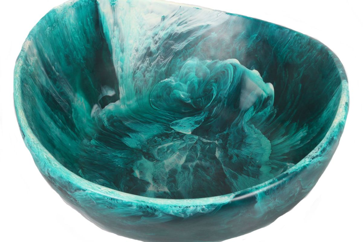 Extra Large Resin Flow Bowl