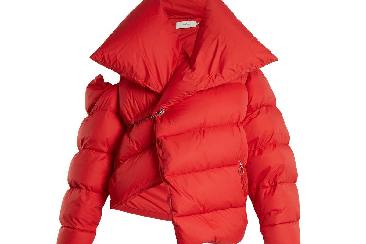 Asymmetric Down Jacket