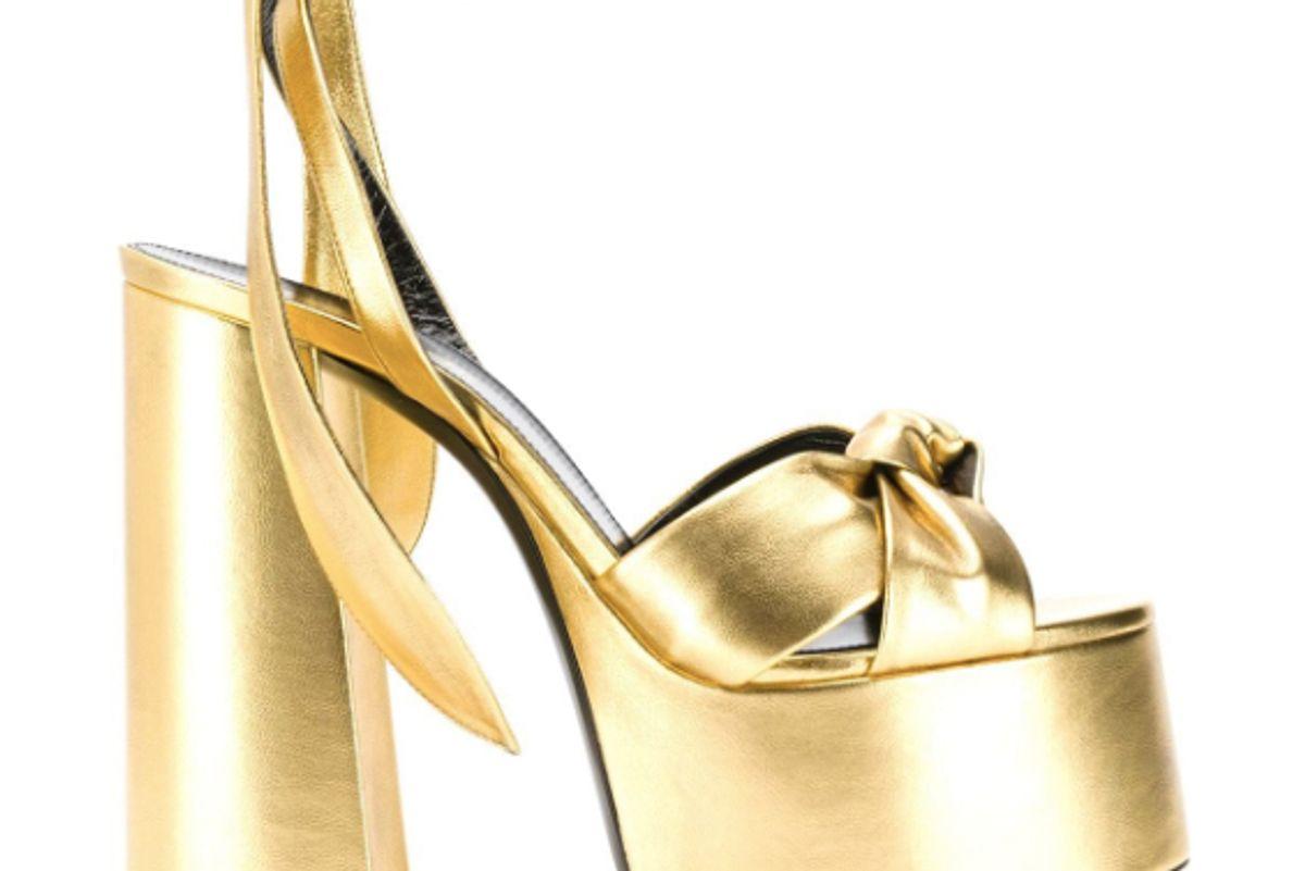 saint laurent paige platform sandals