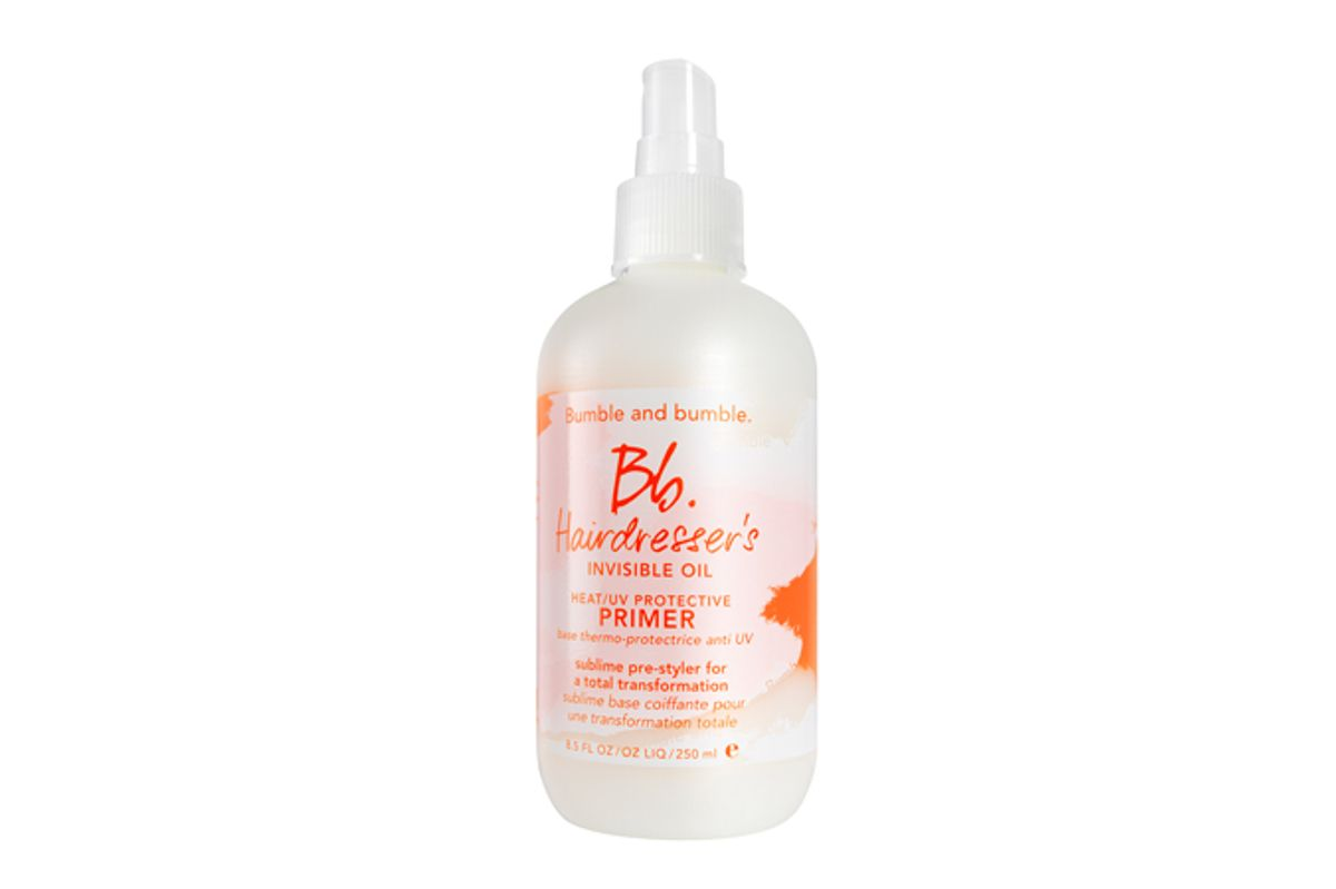 bumble and bumble hairdressers invisible oil heat uv protective primer