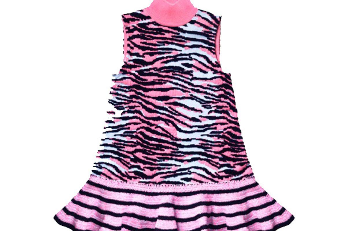 Sleeveless Wool-Blend Dress