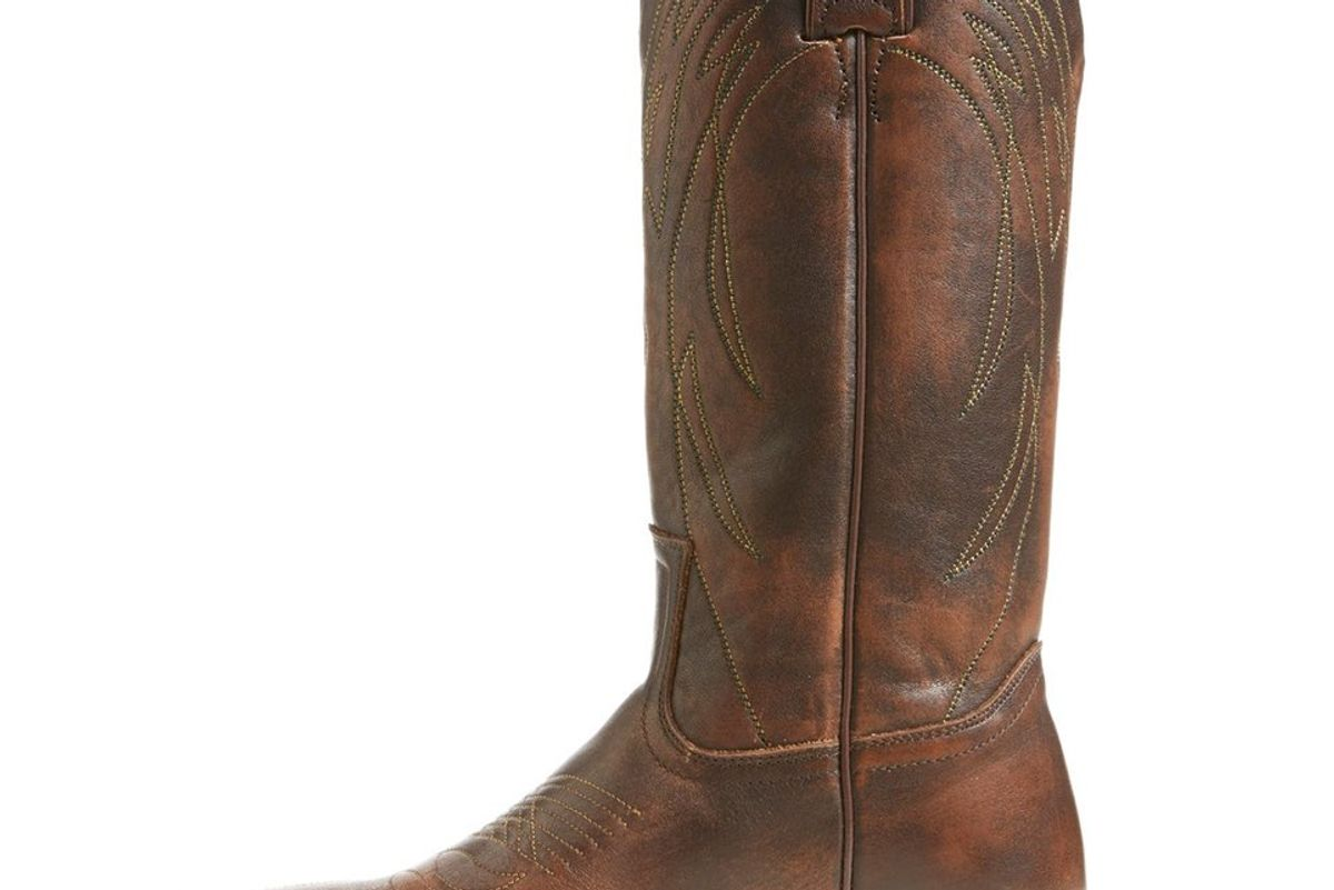 Billy Leather Western Boot