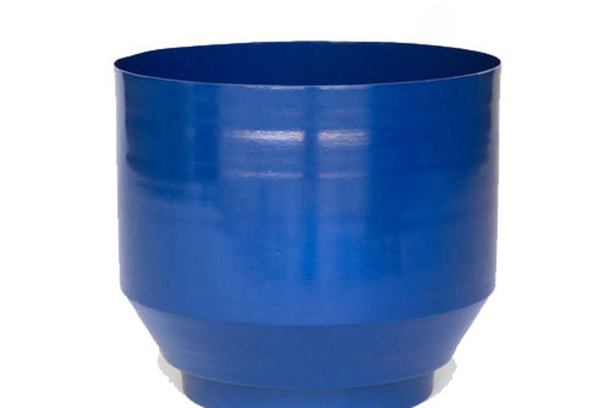 """Outdoor 16"""" Spun Planter - Royal Blue"""