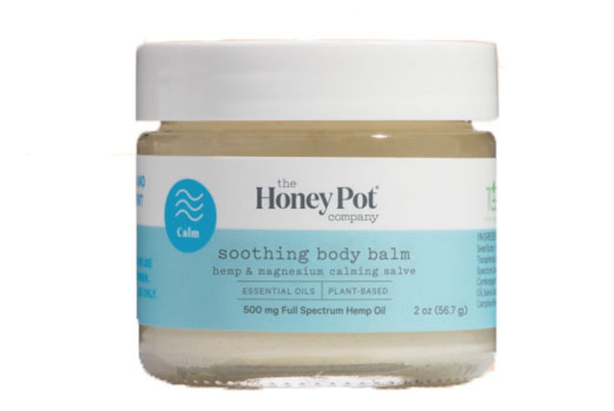 the honey pot co soothing body balm