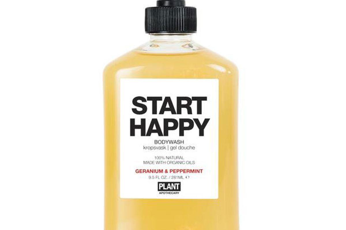 plant apothecary start happy organic body wash