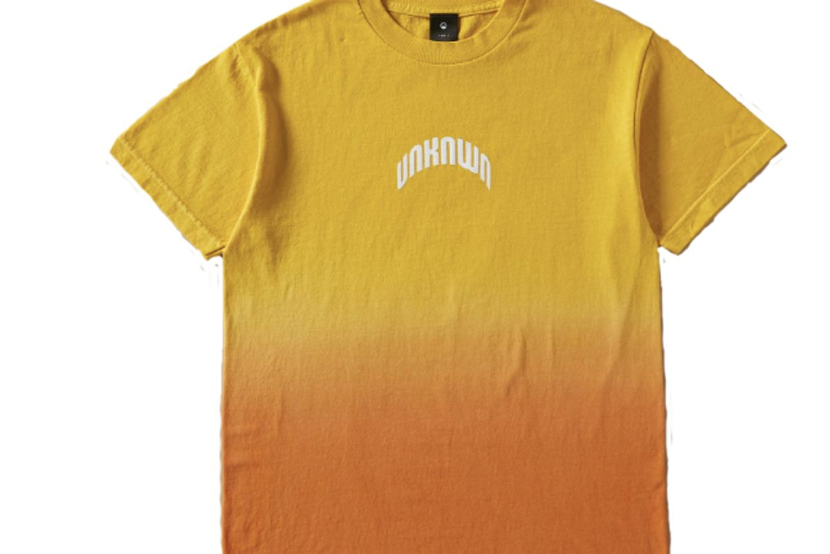 unknwn dip dyed arch t shirt