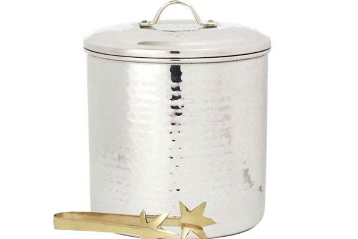 old dutch steel ice bucket