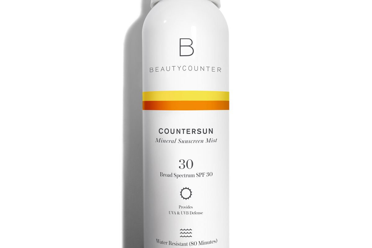 beautycounter countersun mineral sunscreen mist spf 30