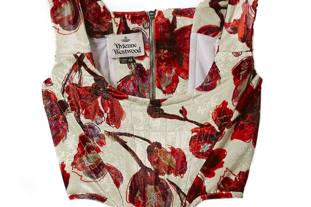 vivienne westwood harlet corset