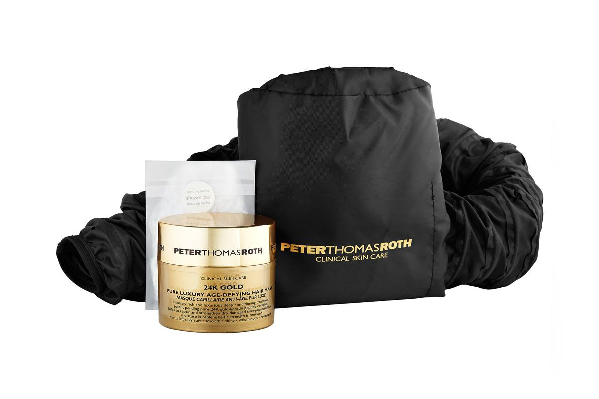 peter thomas roth 24k gold pure luxury age defying hair mask
