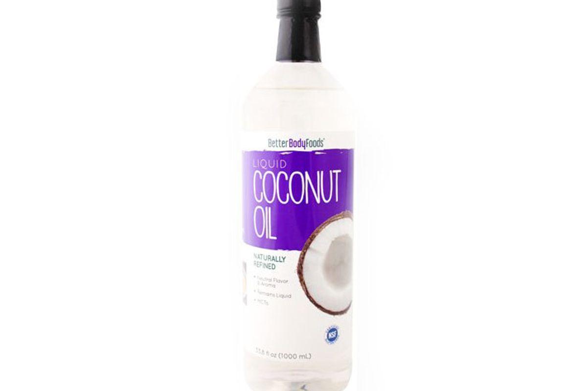better body foods organic liquid coconut oil