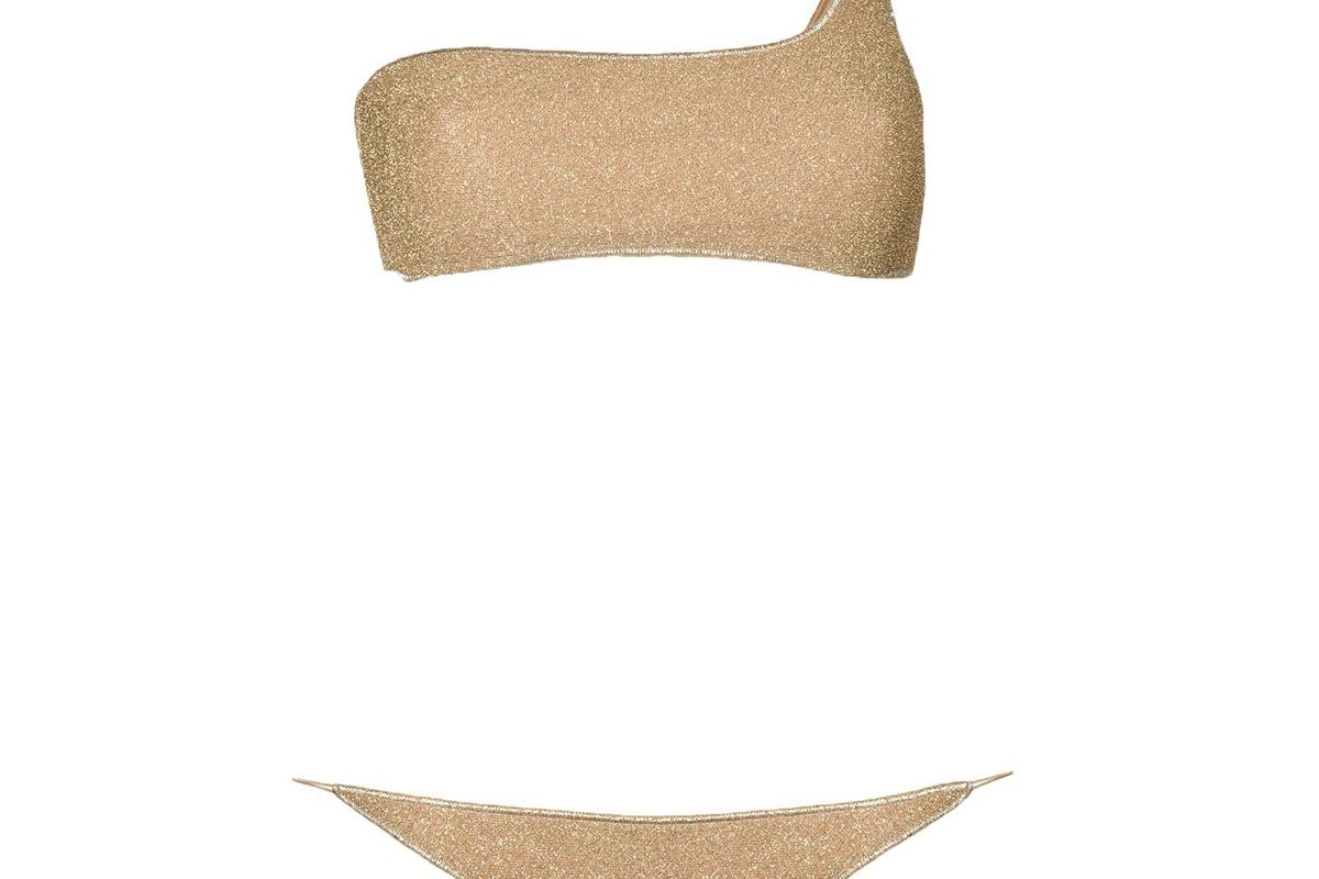 oseree lumiere one shoulder slip