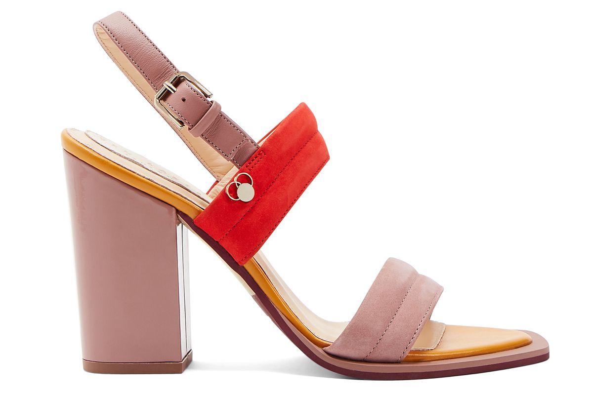 ted baker bridda block heel leather sandals