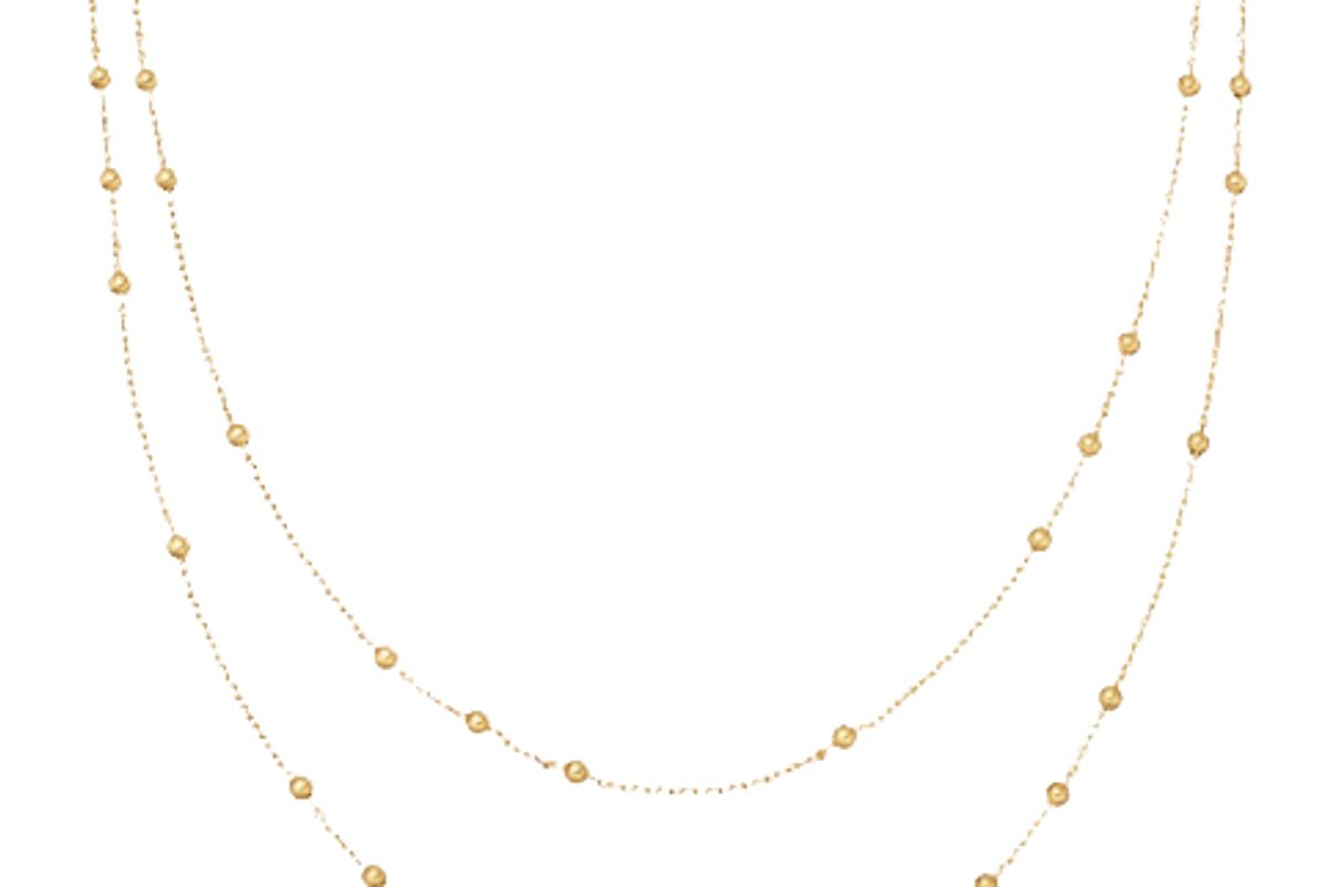 missoma gold double chain