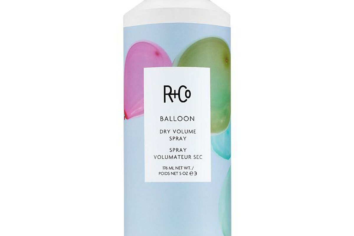r and co balloon dry volume spray