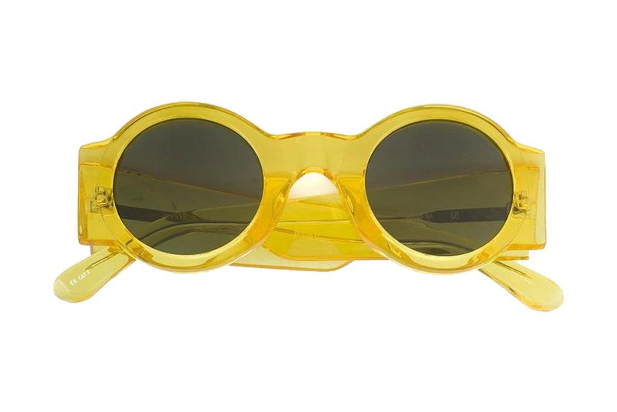 Dries Van Noten 98 C17 Round Sunglasses