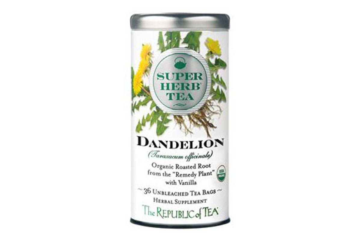 superherb tea organic dandelion tea bags