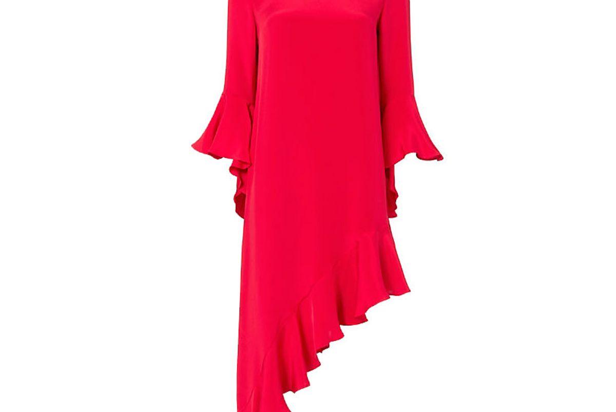 Hazel Ruffle Hem Dress