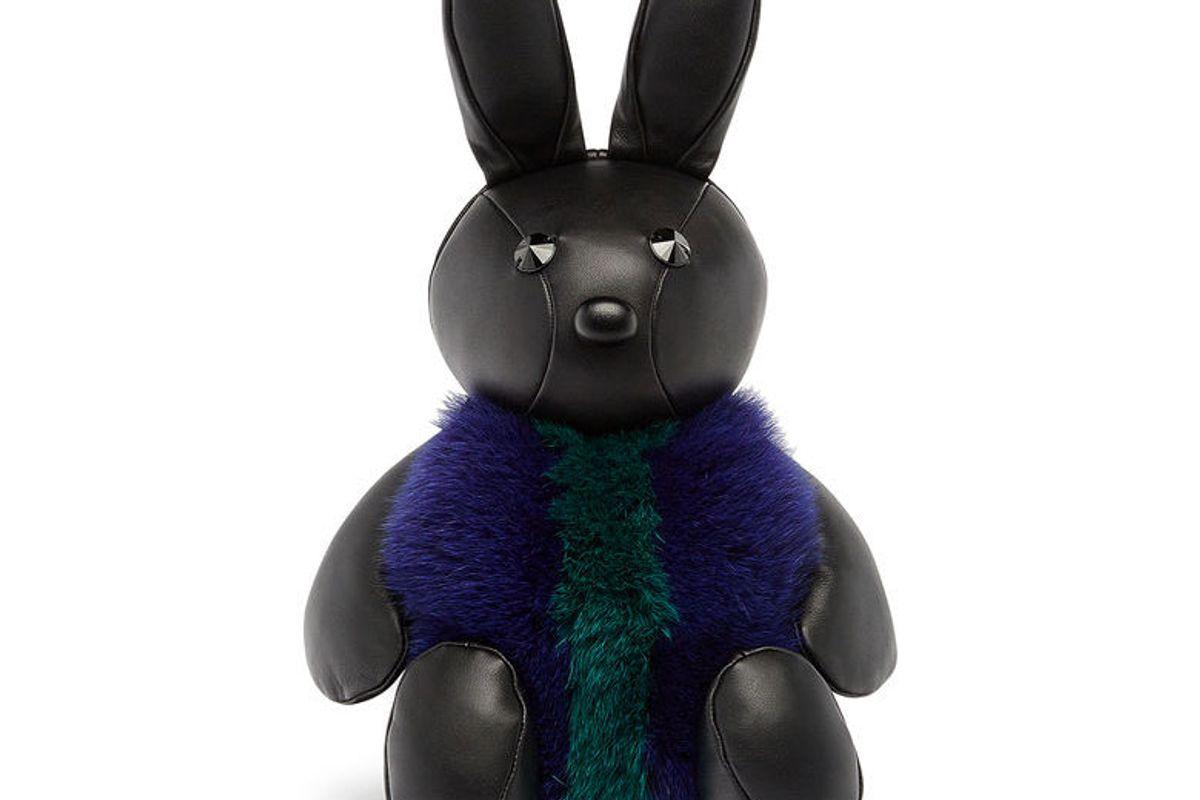 Rabbit Fur Crossbody