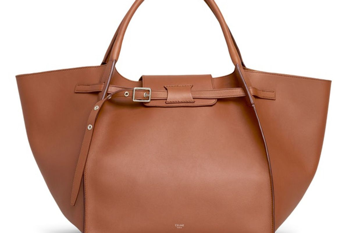 celine big bag smooth medium tan