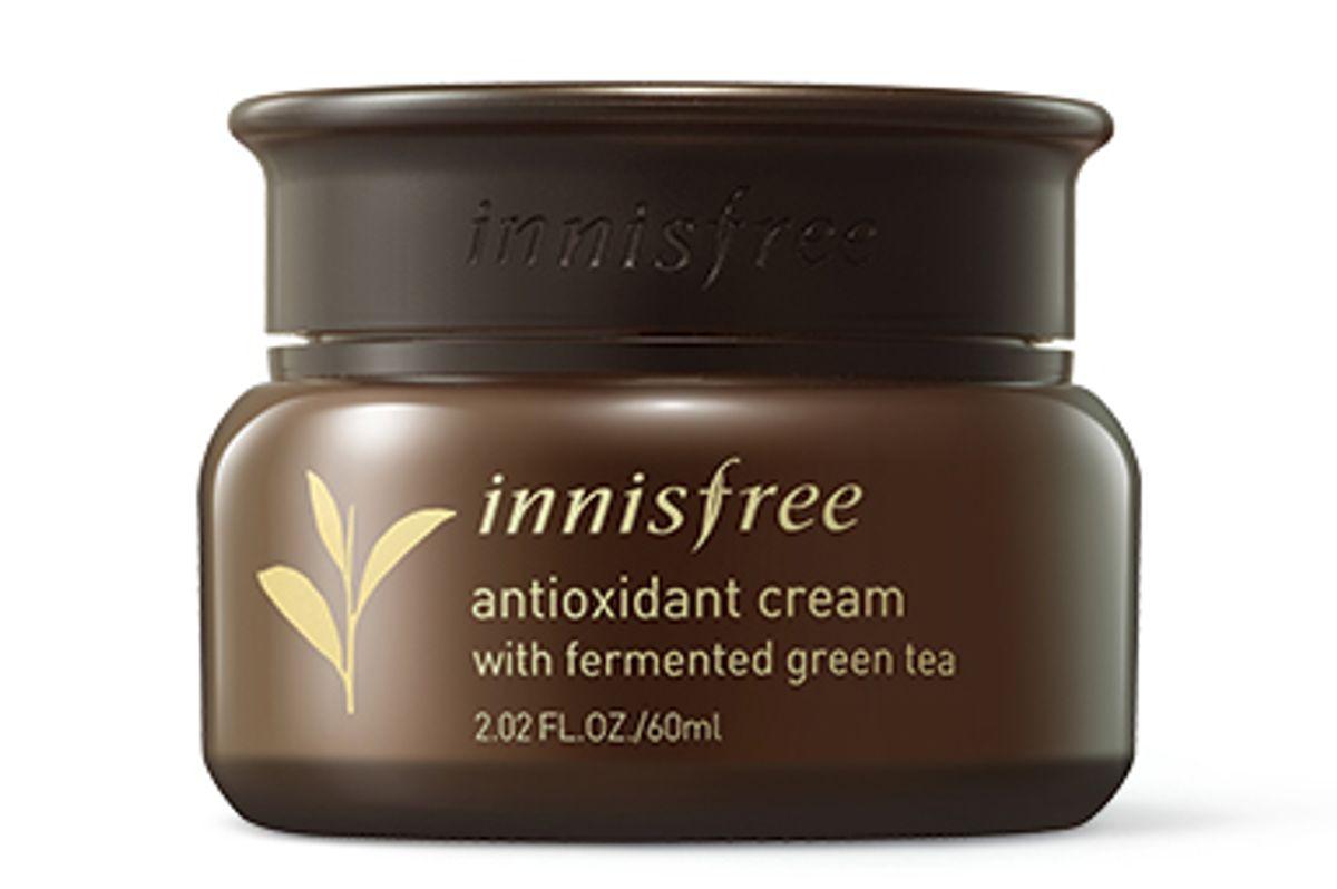 innisfree antioxidant cream with fermented green tea