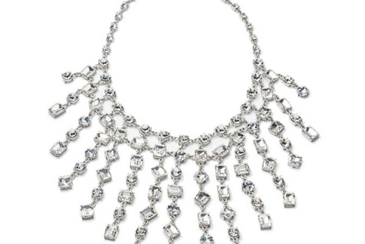 Crystal Abbey Dramatic Bib Necklace