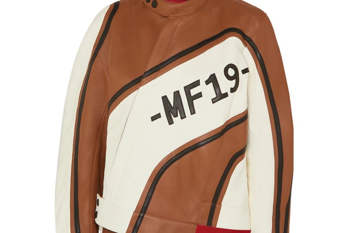 monse asymmetric leather biker jacket