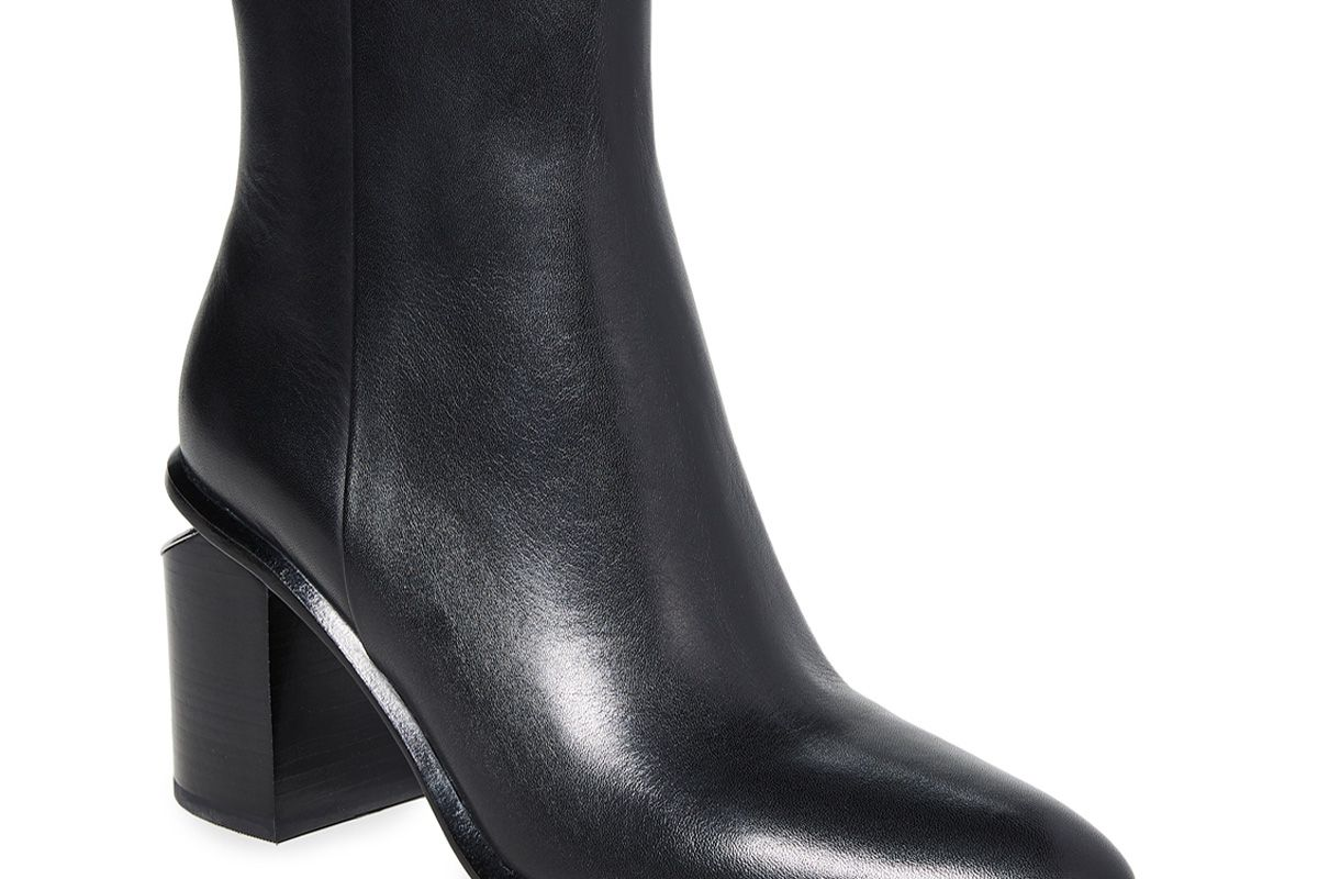 alexander wang anna mid heel boots