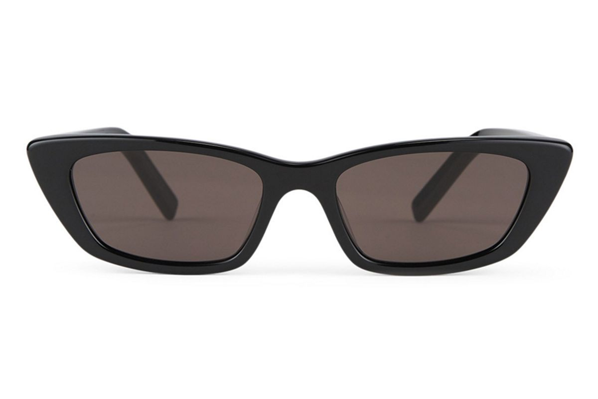 saint laurent new wave sl 277 cat eye sunglasses
