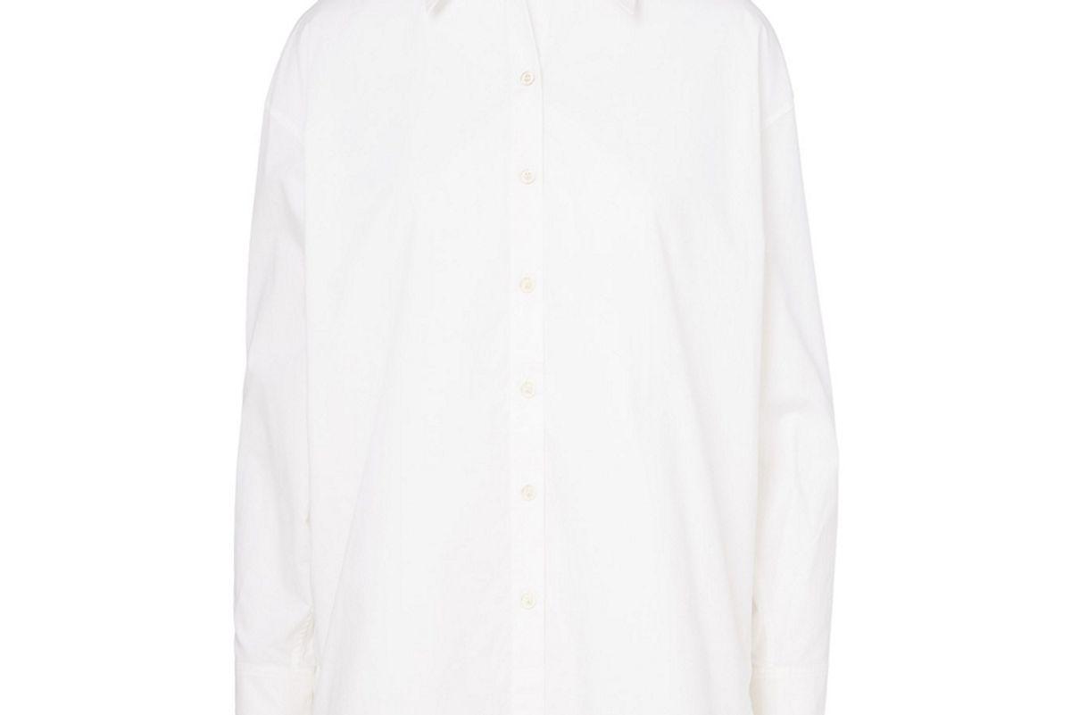 acne studios cotton oversized shirt