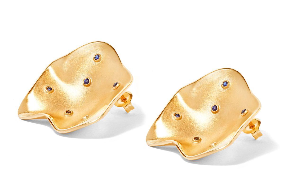 Rock Oyster Earrings