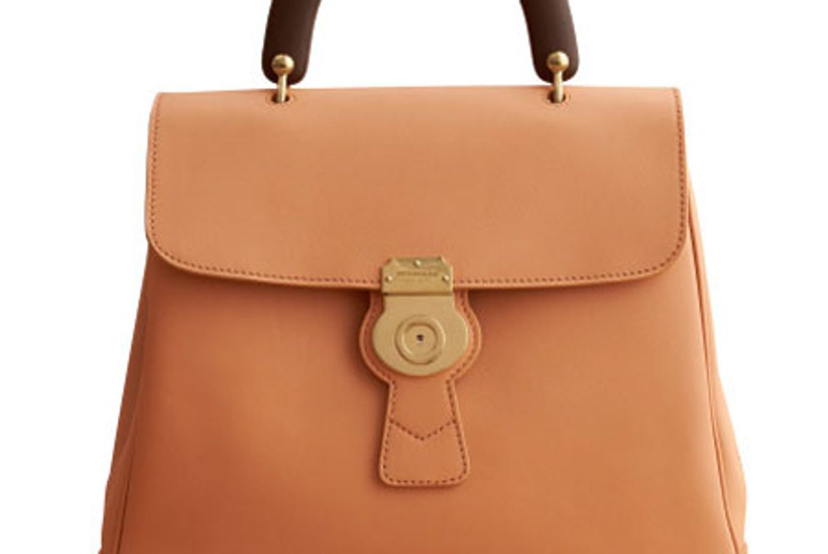 The Large DK88 Top Handle Bag
