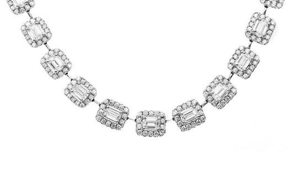 42 Emeralds Necklace