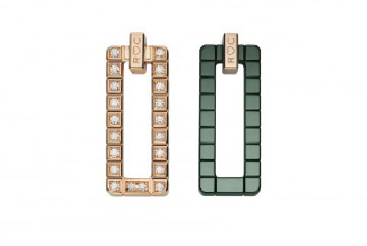 Rihanna Loves Chopard Diamond Earrings