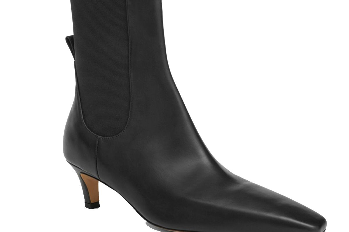 toteme the mid heel boot