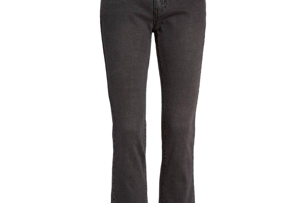 Hermosa Fray Hem Ankle Skinny Jeans