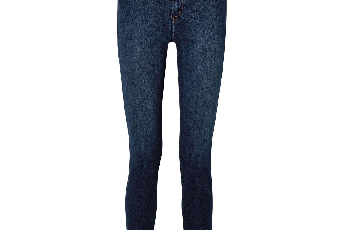 j brand ruby 30 high rise slim leg jeans
